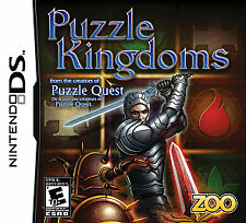 Puzzle Kingdoms DS Game for Nintendo from creator of Puzzle quest