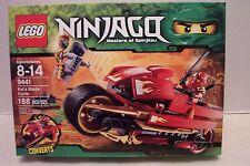 Lego #9441 Ninjago Masters Of Spinjitzu Kai's Blade Cycle Rare & HTF NIB 2012!