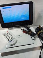 "Toshiba SD-P93 Portable DVD player 9"" LCD SD Memory Card CD MP3 DiVx SDP93SWE"