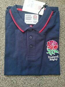 England Rugby Polo Shirt, Official Product, Size xl