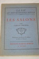 Les salons,Carlos Fischer,Seheur,1929,Illustré