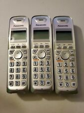 Lot of 3 Panasonic KX-TGA402 Handset