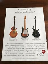1995 8X11 PRINT Ad for PARKER FLY GUITARS GIBSON LES PAUL, FENDER STRATOCASTER