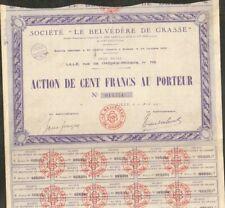 LE BELVEDERE DE GRASSE (LILLE 59 - GRASSE 06) (W)