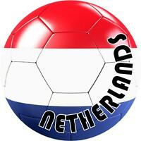 decal sticker car bumper flag soccer ball foot football netherlands