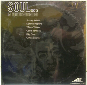 Soul... In The Beginning (VARIOUS ARTIST) AVCO EMBASSY AVE 33006 FACTORY SEALED