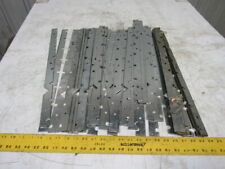 """Dematic K00090101A Roller Conveyor Edge  Strips 3"""" Roll Centers 7/16 Hex Lot/41"""