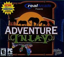 Real Arcade: Adventure Inlay (PC-CD, 2005) for Windows 98-XP - NEW in Jewel Case