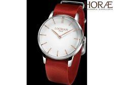 Orologio uomo Locman collezione 1960 0251V08-00WHRGNR acciaio rosso nylon bianco