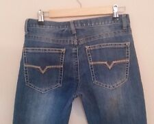 Request Jeans Women's straight leg size 14 med blue wash