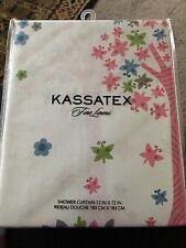 "Bambini Kassetex Home Kids Merry Meadows Owl Tree Shower Curtain 72"" X 72"""