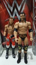 WWE MATTEL BATTAGLIA PACK SERIE Shawn Michaels Razor Ramon WRESTLING Figura WM7