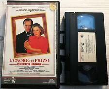 VHS - L'ONORE DEI PRIZZI di John Huston [DE LAURENTIS-RICORDI]