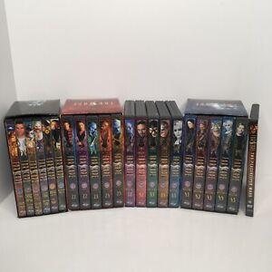 FARSCAPE Complete Series, Seasons 1-4. The Original DVDs Complete Lot + movie