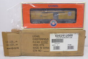 DA Lionel 52412 LCCA Union Pacific Auxiliary Power Car Mint w Shipper