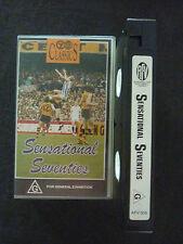 SENSATIONAL SEVENTIES ULTRA RARE OZ AFL AUSSIE RULES VHS VIDEO!