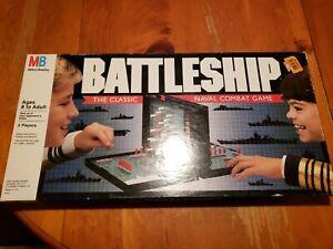 Milton Bradley Vintage 1990 Battleship Board Game Complete