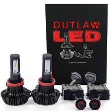 OUTLAW LIGHTS LED | 1999-2009 GMC Envoy | LOW BEAM | 9006