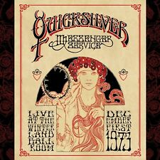 QUICKSILVER MESSENGER SERVICE - LIVE AT WINTERLAND BALLROOM 2 VINYL LP NEUF