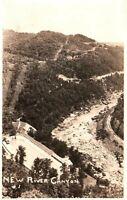 RPPC New River Canyon West Virginia Vintage Postcard