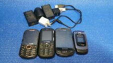 Cell Phone Bulk Lot of Phones & Acc Samsung Lg - Verizon Phones *Parts*