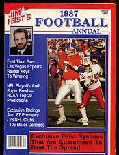 1987 Jim Feist's Football Annual VGEX