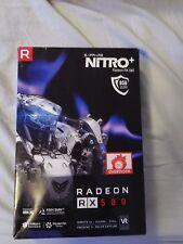Radeon RX 580 Nitro + 8192 MB GDDR 5 PCI-Express tarjeta de gráficos