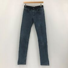 LANVIN ACNE Dark Blue Straight Leg Classic Jeans Ladies UK Size 26 37470