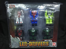 Fansproject  Transformers Diaclone Ler-Drivers Lost Exo Realm 6 pack Exclusive