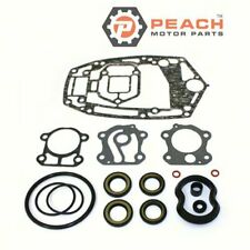 Peach Motor Parts PM-6H3-W0001-22-00 Lower Unit Gasket Kit Fit Yamaha® 6H3-W0001