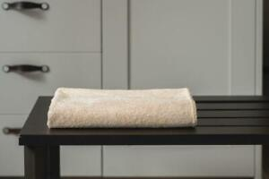 Ayurvedic bath towel - Rust Cream
