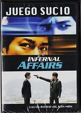 JUEGO SUCIO. INFERNAL AFFAIRS de Wai Keung Lau. DESCATALOGADA