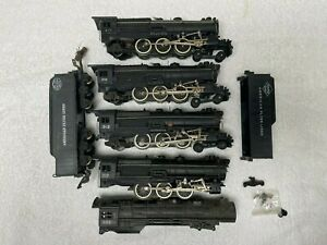Lot American Flyer 310 & 312 steam Locos for Parts or Restoration Make the best