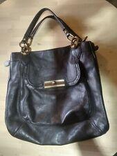 COACH  Large  Shoulder Handbag Black  vintage bag