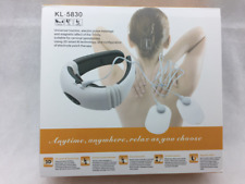 3D Electric Neck Massager Magnetic Pulse KL-5830 Electrode Patch Therapy NEW UK
