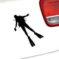 Man Sport Scuba Diving Diver Personality Vinyl Car Styling Door Decal Sticker