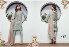 Pakistani Baroque Chiffon Collection 2018 Embroidery designer Shalwar Kameez