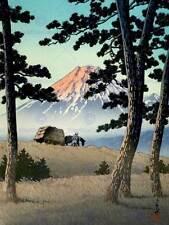 CULTURAL NATURE LANDSCAPE JAPAN Fuji Kawase Hasui POSTER ART PRINT BB854B