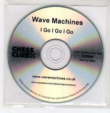 (FF170) Wave Machines, I Go I Go I Go - 2008 DJ CD