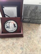 Canada 2017 - 1867 Confederation Medal Re-strike 10 oz. Pure Silver Medal
