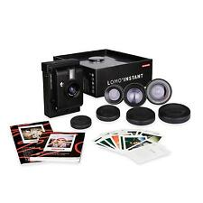 Lomography Lomo'instant Black Edition Kit con 3 Lenti Alternativa a Polaroid - I