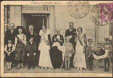 VITRY-LE-FRANCOIS CARTE POSTALE HOTEL DE L' ETOILE SEJOUR REINES DE FRANCE 1935