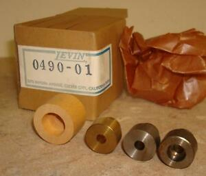 Levin Lap Set for Watchmakers Lathe Pivot Polisher, NOS