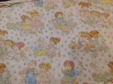Cabbage Patch Kids Twin Flat Sheet Material Vintage Crafts Vintage 1980s