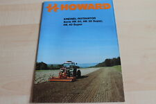 139237) Howard Gyro Rotavator HK 20 30 40 Brochure 199?