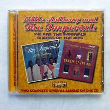 Little Anthony & Imperials : We Are the Imperials & Shades of the 40's CD kz185