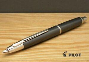 Pilot Namiki Capless Decimo Fountain Pen Dark Gray Mica Medium Nib FCT-15SR-GY-M