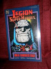 Legion of Super-Heroes The Great Darkness Saga Paperback DC Levitz Giffen