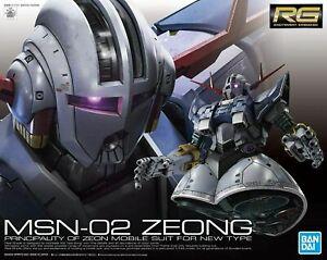 Bandai Spirits Mobile Suit Gundam Zeong RG 1/144 Model Kit USA Seller