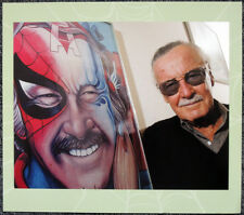 SPIDER-MAN / STAN LEE POSTER PAGE . MARVEL COMICS . S3